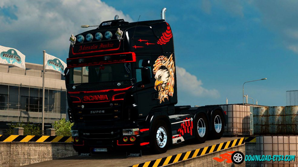 Adrenalin Junkie Skin for Scania RJL