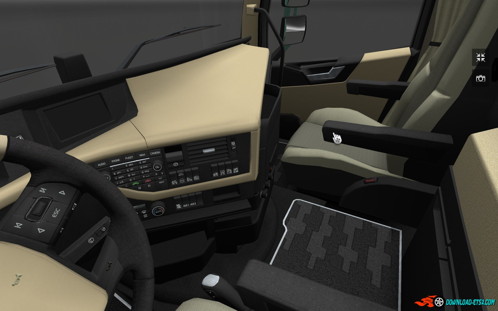 Volvo FH16 2012 - HD Interior v1.3 (by nIGhT-SoN)