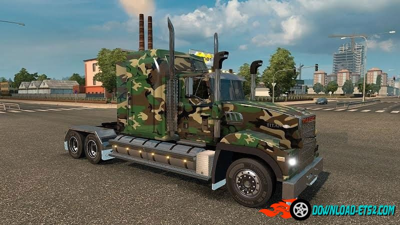 """ARMY CAMO"" SKIN FOR MACK TITAN"