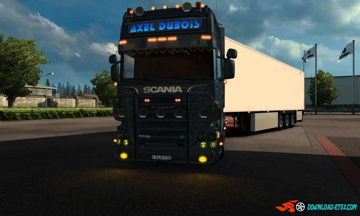 SCANIA ALEX DUBOIS + NEW LAMBERET SR2