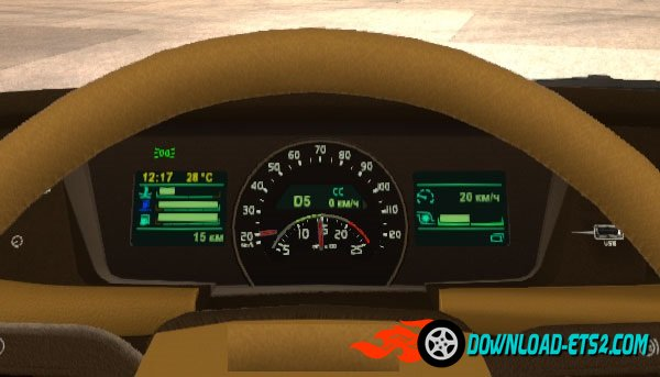 Volvo FH16 2012 and 2013 (ohaha) Dashboard [1.19.x]