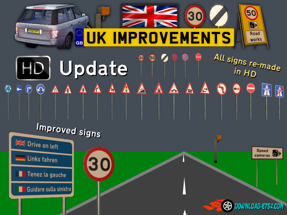 UK Improvement [HD UPDATE - 1.19 COMPATIBILITY Hotfix]
