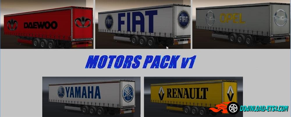 MOTORS TRAILERS PACK by SilvaTrucker