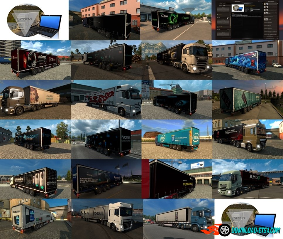Electronics Trailer Pack by VGSKINS