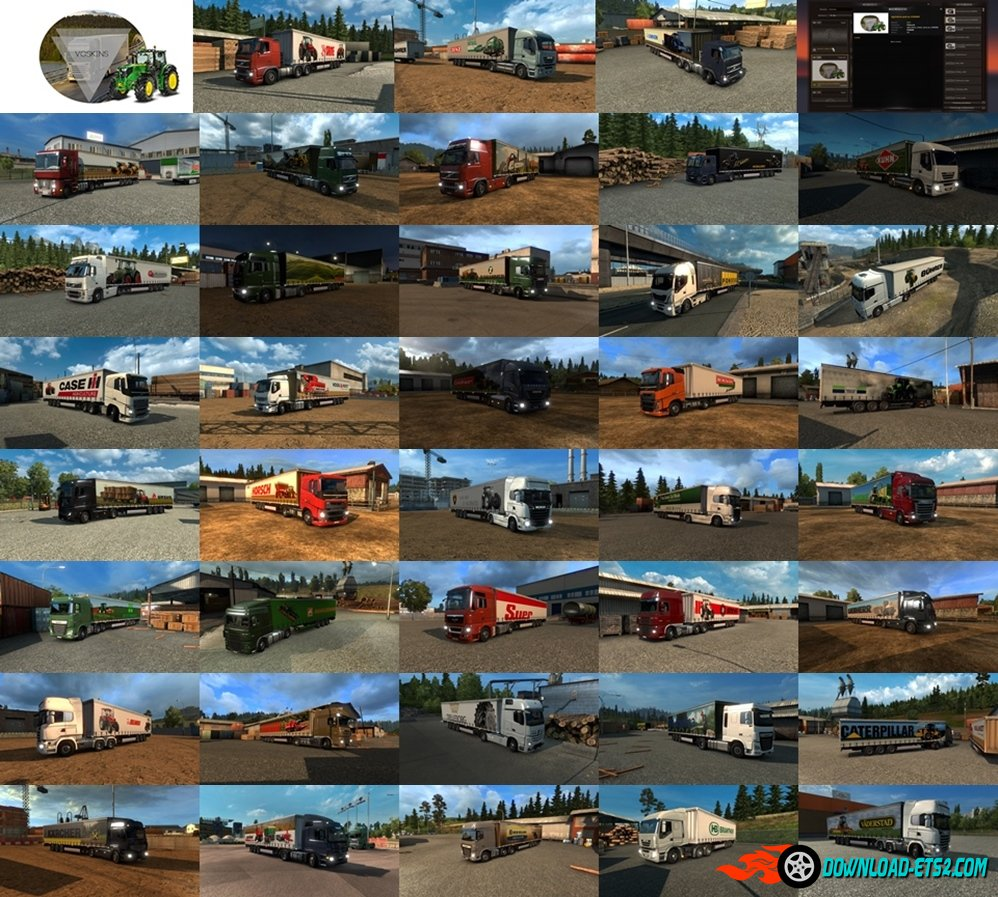 Agriculture Trailer Pack by VGSKINS