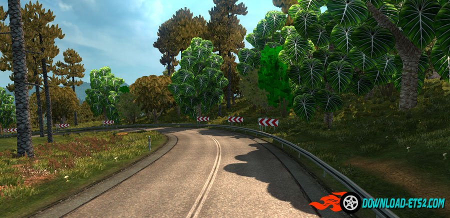 Tropical Trees Mod v 2.0 by Grimes