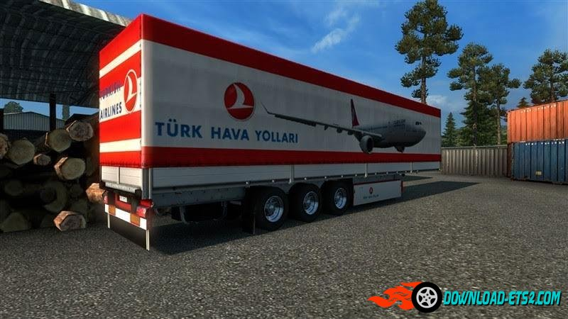 Turkish Company trailer skin