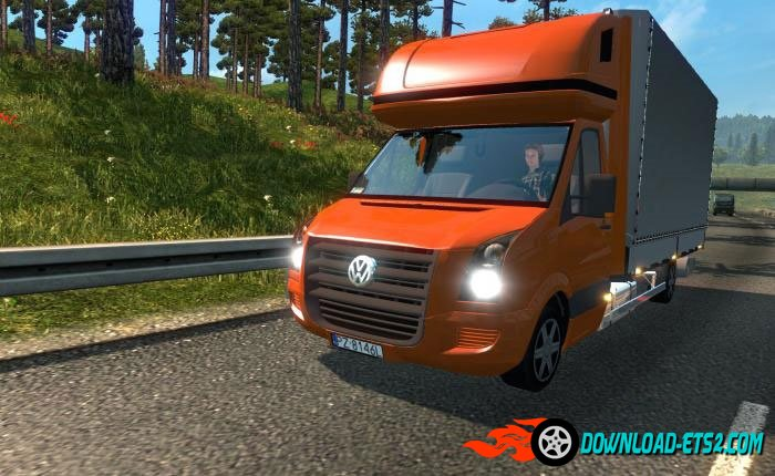 Volkswagen Crafter to AI Traffic