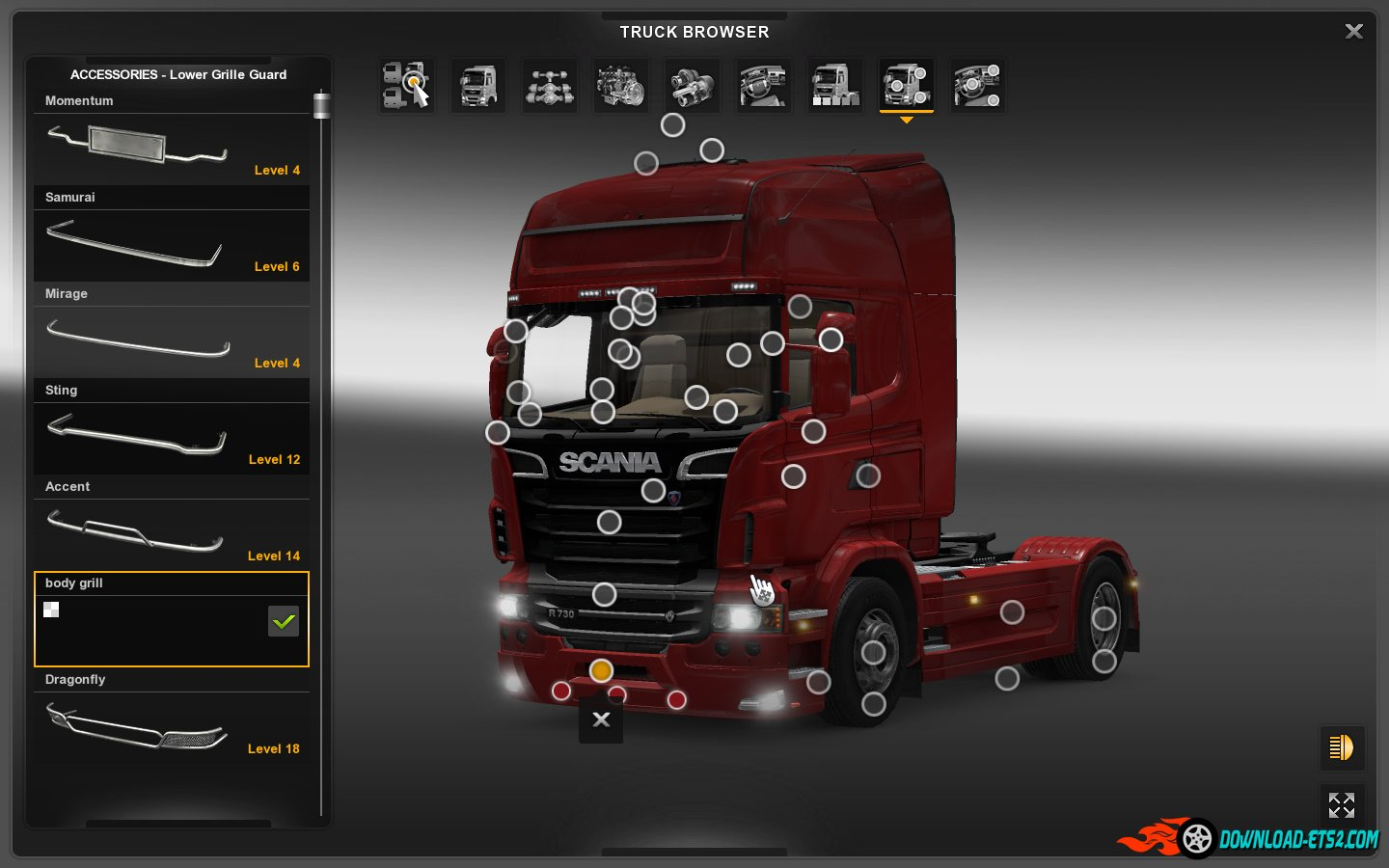 Scania Mega Store for ETS2 [1.19]