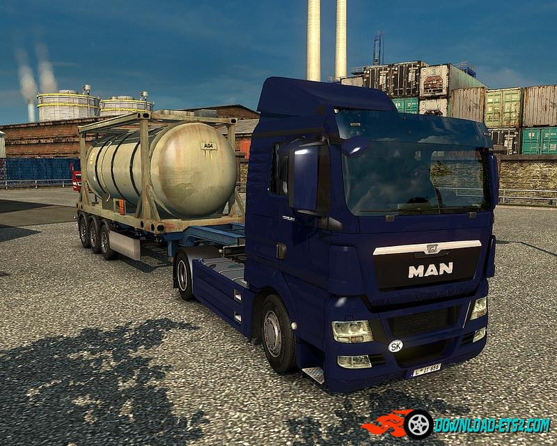 MAN TGX REWORKED V1.8