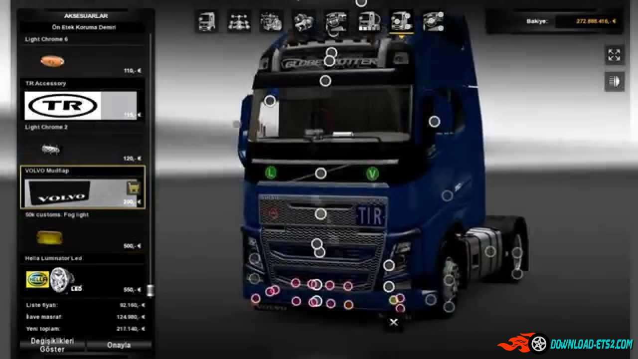 NEW VOLVO FH16 ACCESSORIES + INTERIOR