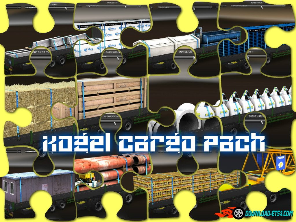 Kögel Trailer +15 cargo Pack v.1 1.20