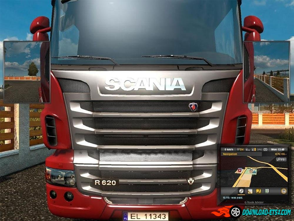 License plates fix for ProMods v 1.0 by hyst329