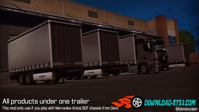 All products under one trailer from DANZ