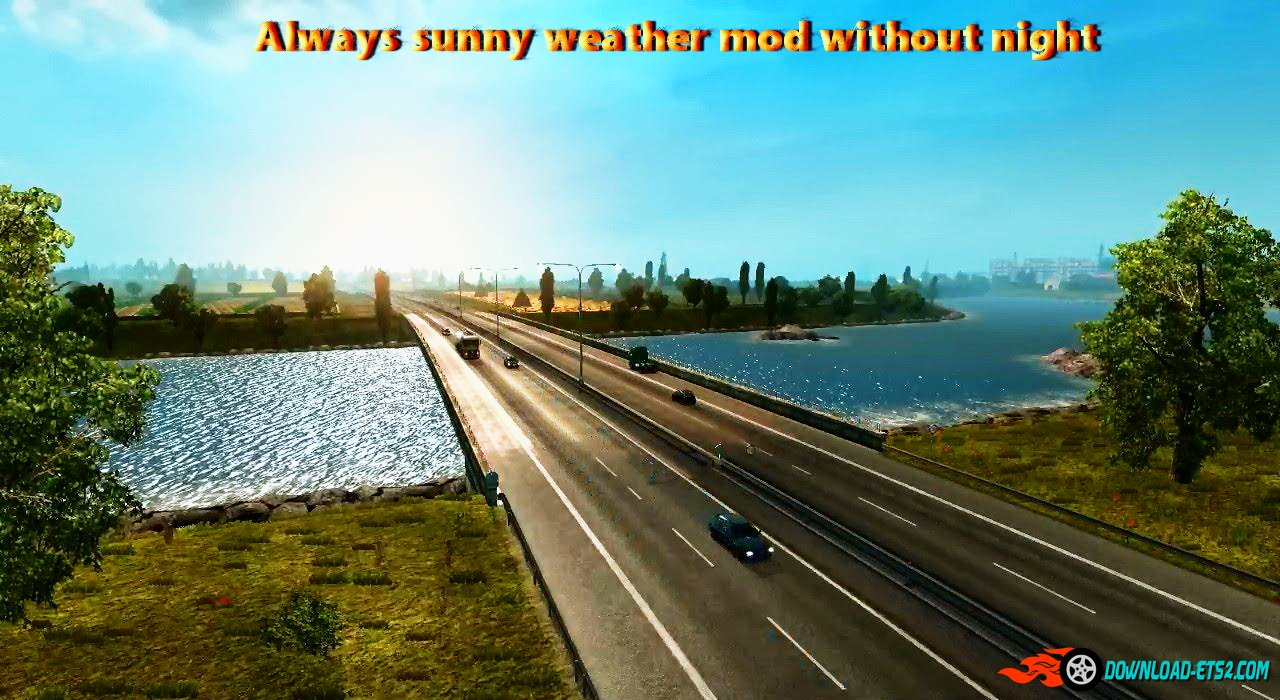 Always sunny weather mod without night v1.2 by Hemil