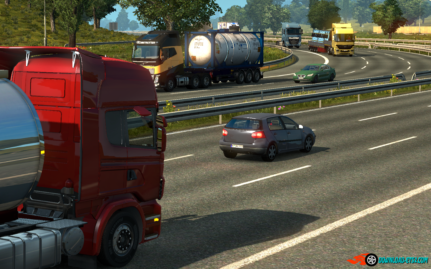 Traffic Density mod for 1.20 by piva
