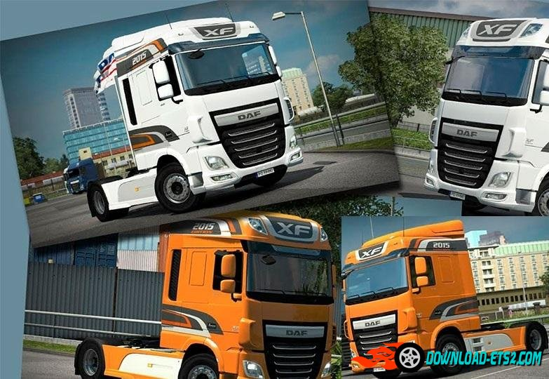DAF XF E6 Edition 2015 skin by Borsuk