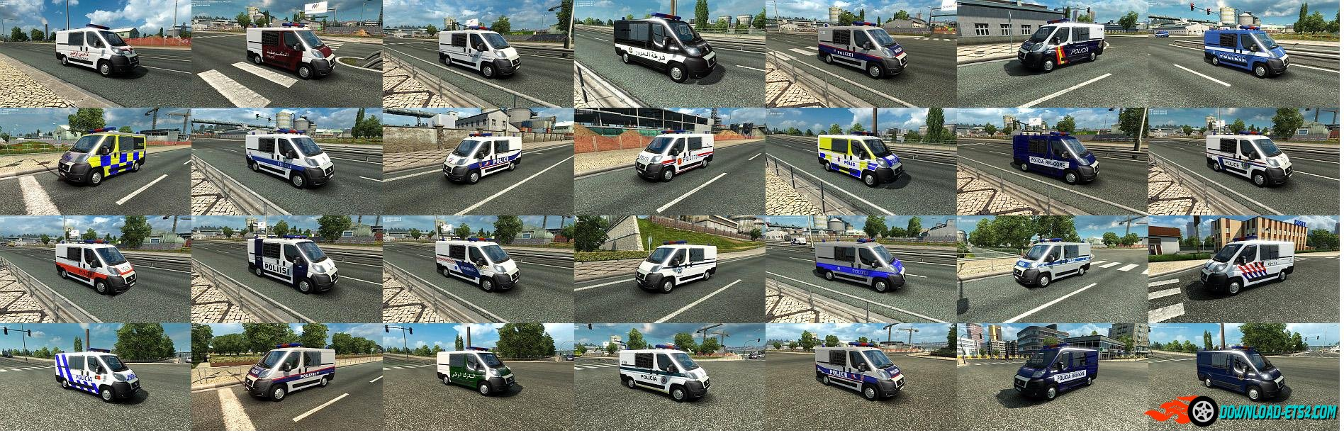 EUROPOLICE for ETS2 v1.20.X