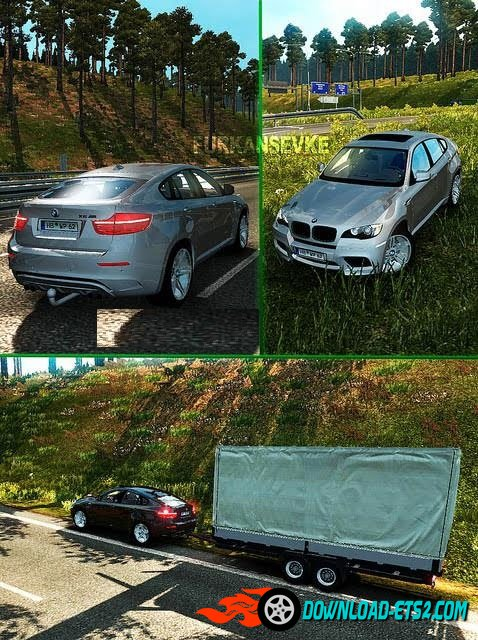 BMW X6 v3.3 + WheelPack +Trailer [1.20.x]