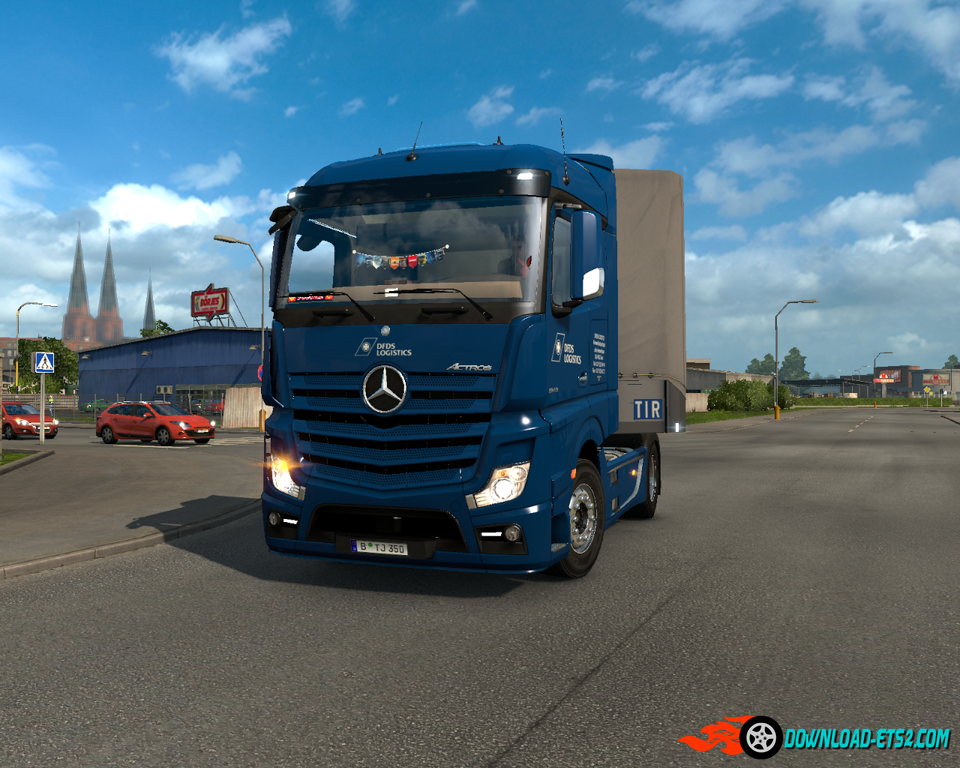 mercedes actros mp4 v1 4 by taina95 download ets 2 mods. Black Bedroom Furniture Sets. Home Design Ideas