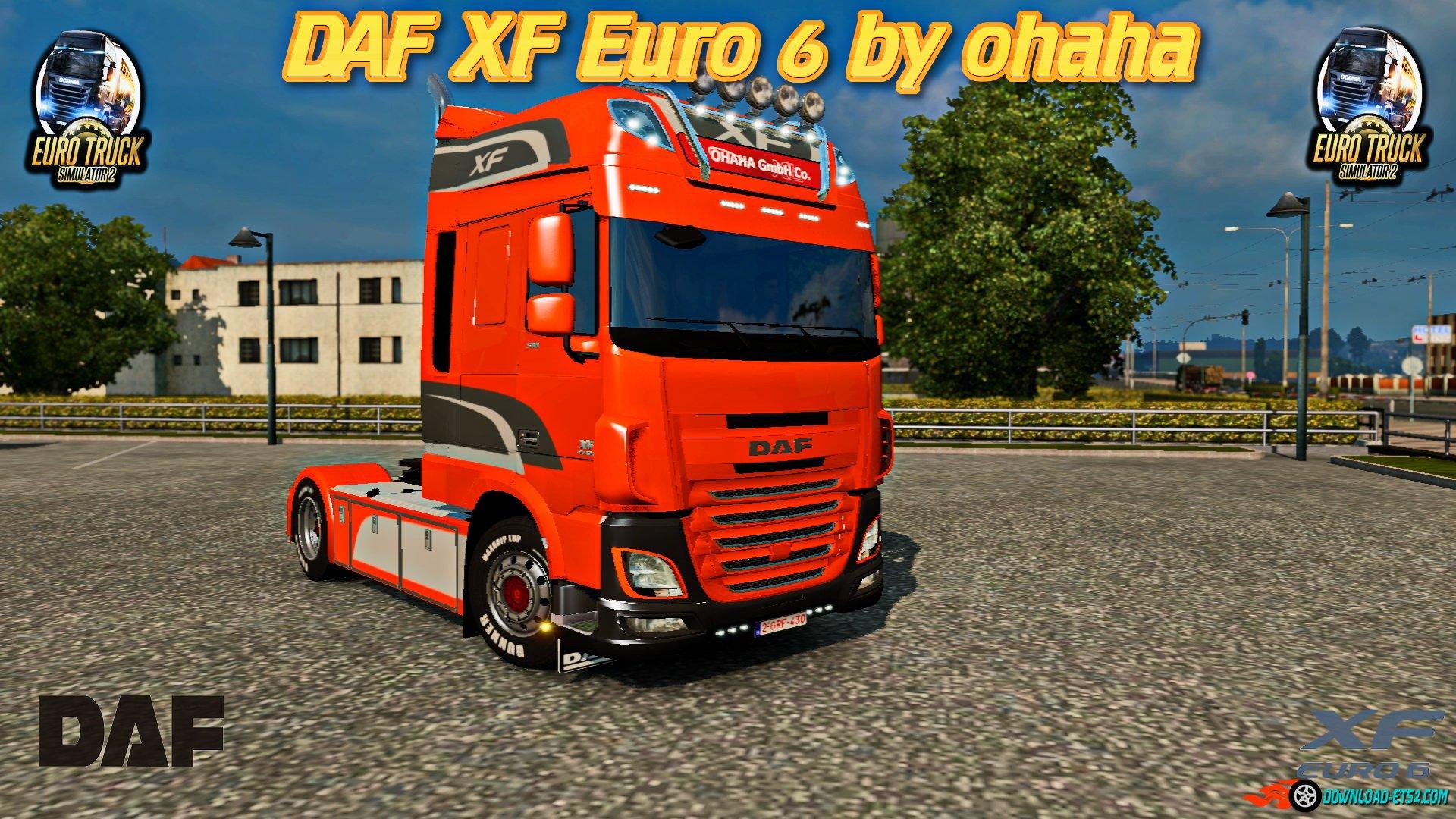 DAF XF Euro6  v1.46 by ohaha [1.22.x]