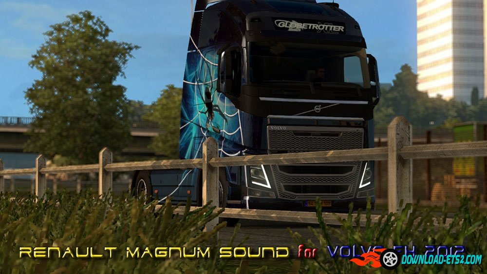 Renault Magnum Sound for Volvo FH 2012(Sp\Mp)