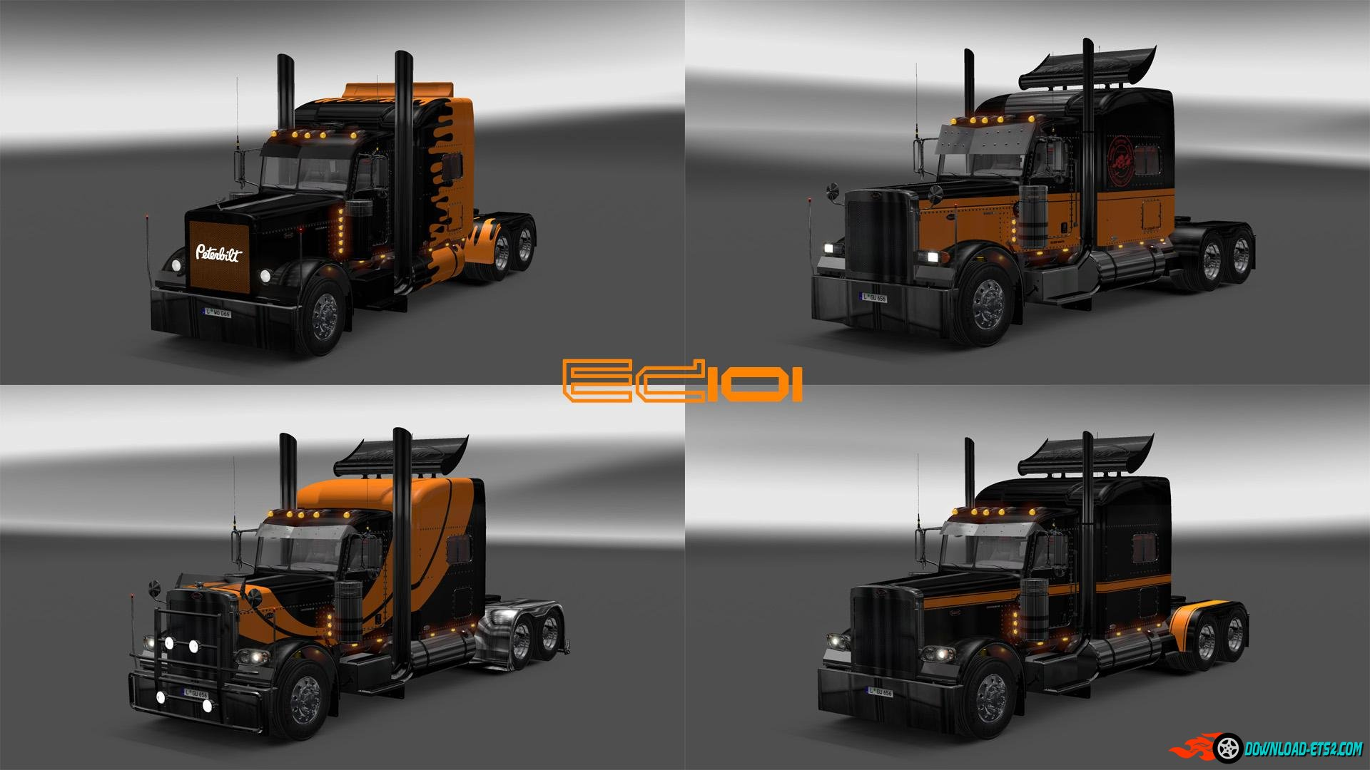 MODIFIED PETERBILT PAINTJOB PACK