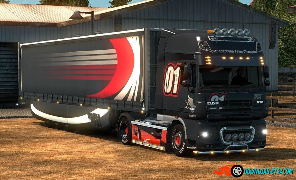 Renault Premium Paintjob for DAF 105 (and 750 HP)