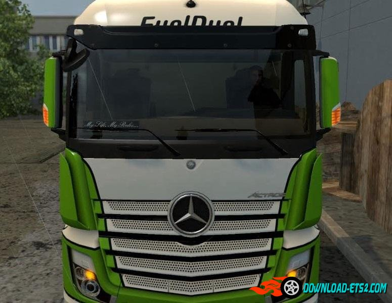 Blinker on the rearview mirror for mercedes actros mp4