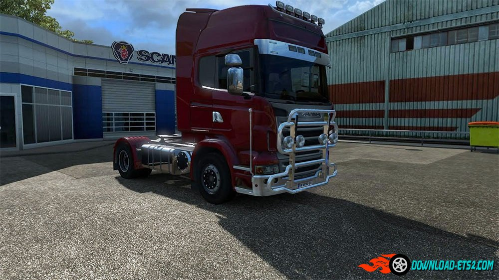 Realistc chrome mod (for all trucks)