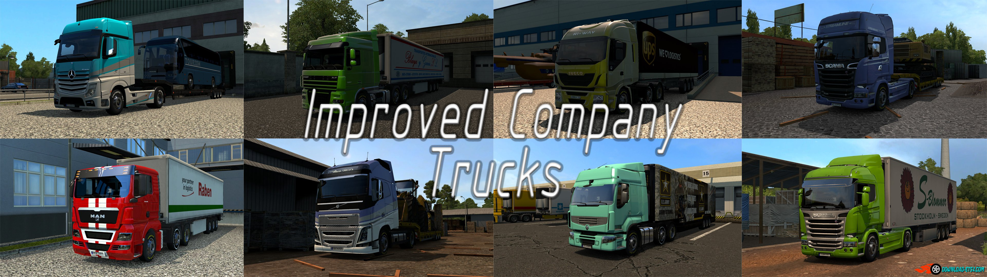 Improved Company Trucks v1.1