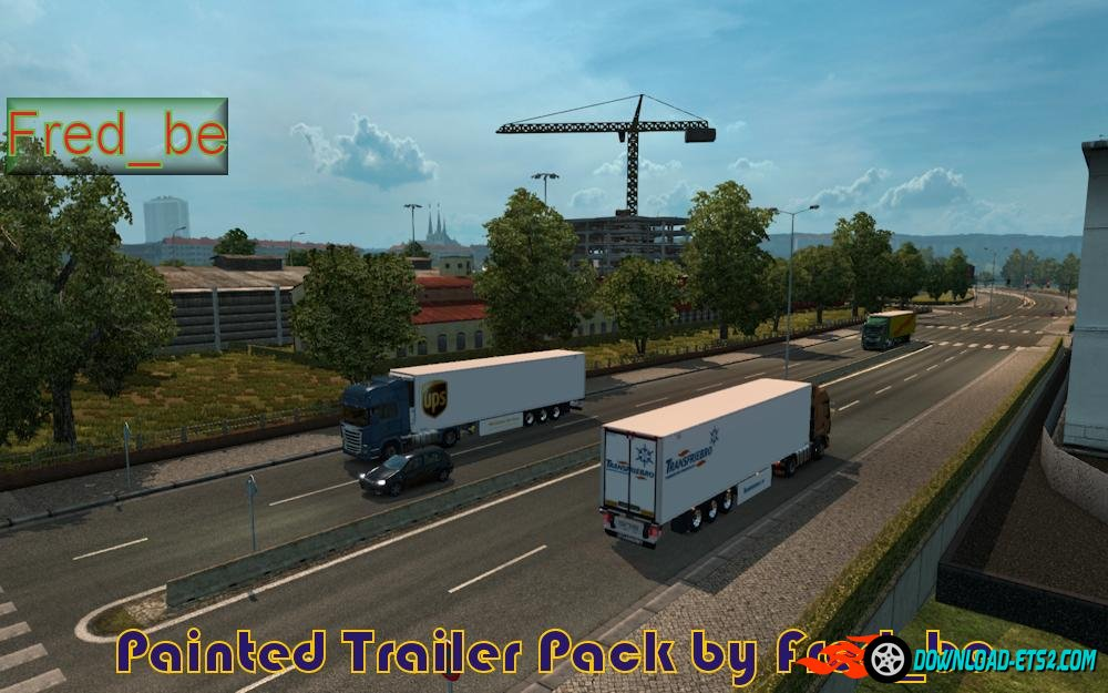 Painted Trailer Traffic by Fred_be [1.20.x]