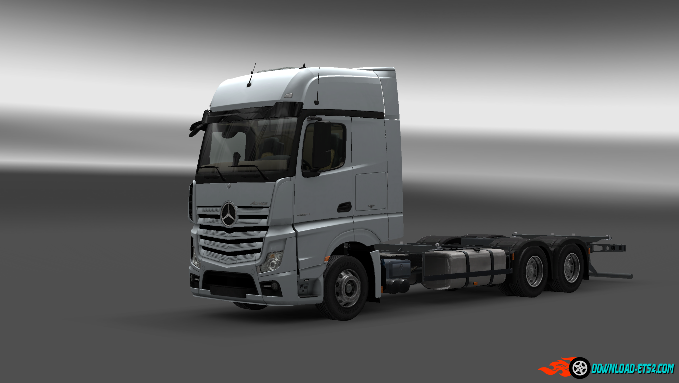 mercedes benz actros mp4 rgd v1 1 trailer ets2 mods. Black Bedroom Furniture Sets. Home Design Ideas