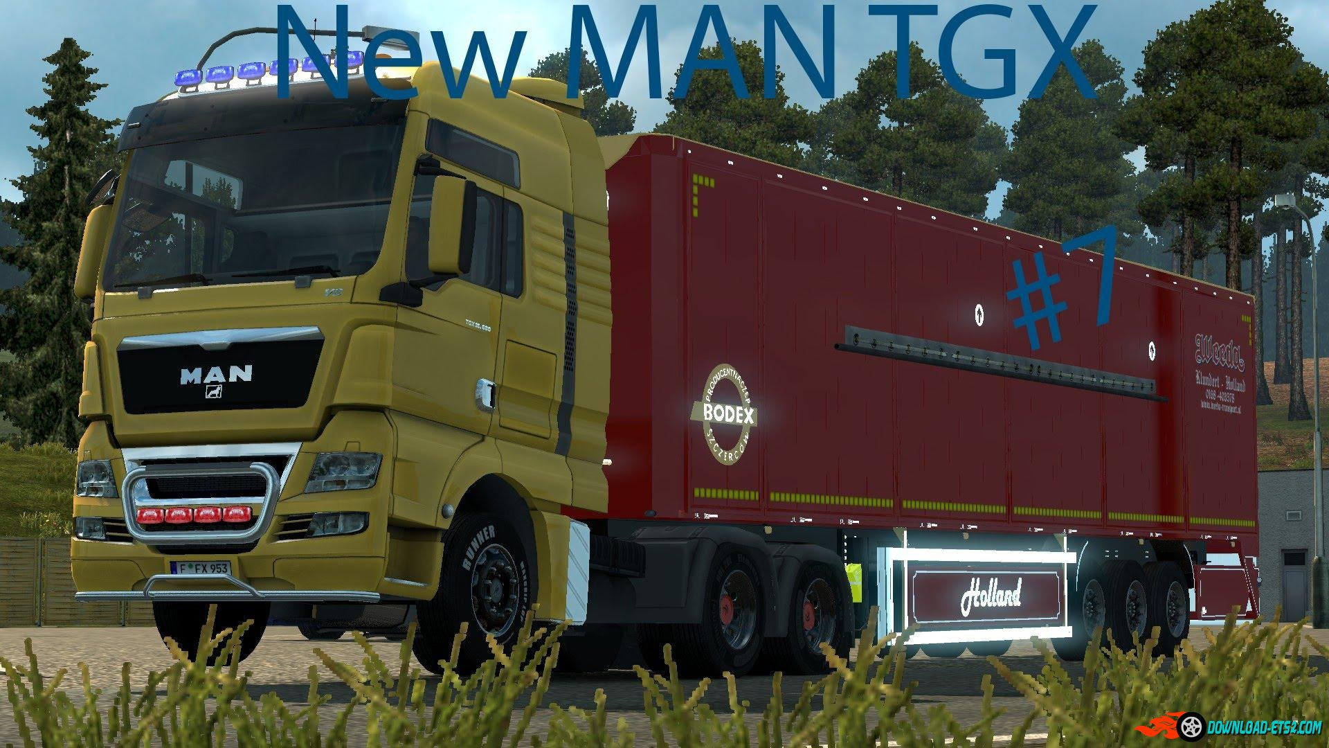 New MAN TGX Modified v1.2