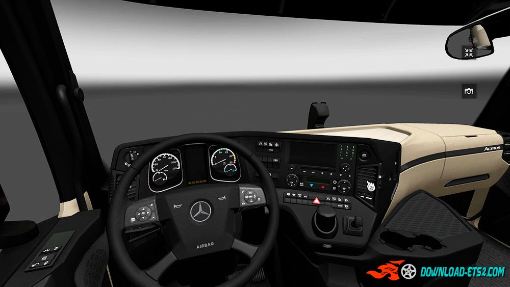 Mercedes Actros MP4 Interior v1.0 by dymerwest