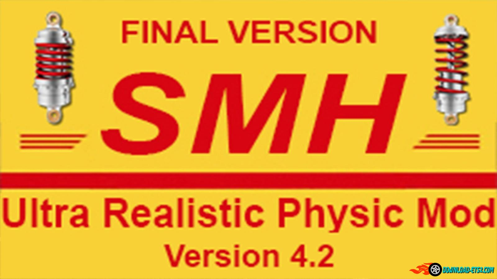 SmhKzl Ultra Realistic Physic Mod v4.2 Final[1.21]