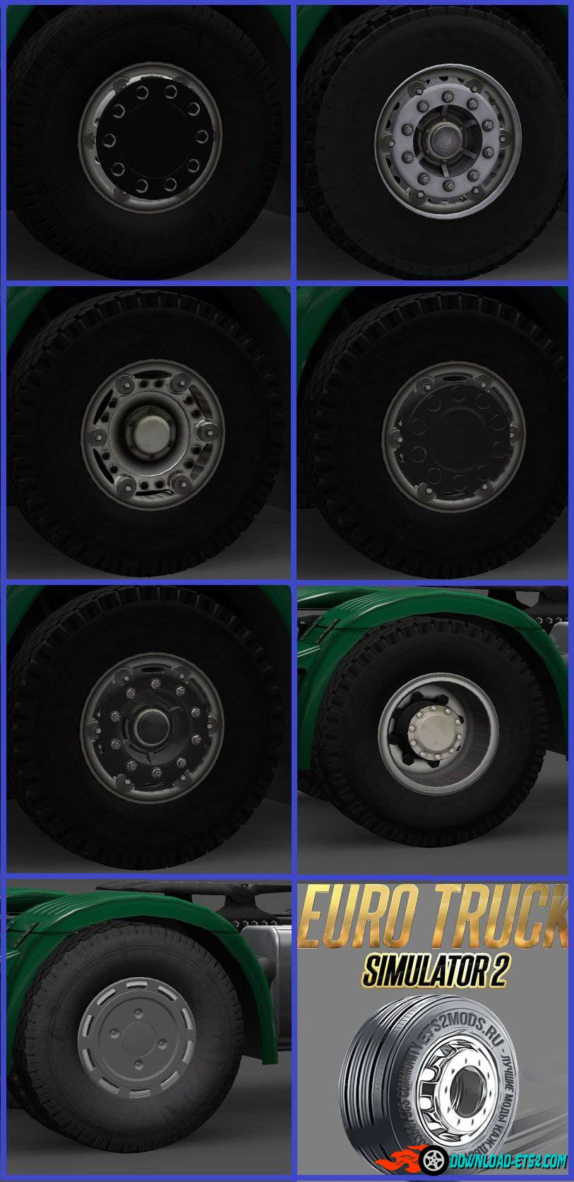 """MAZ"" Wheels Pack"