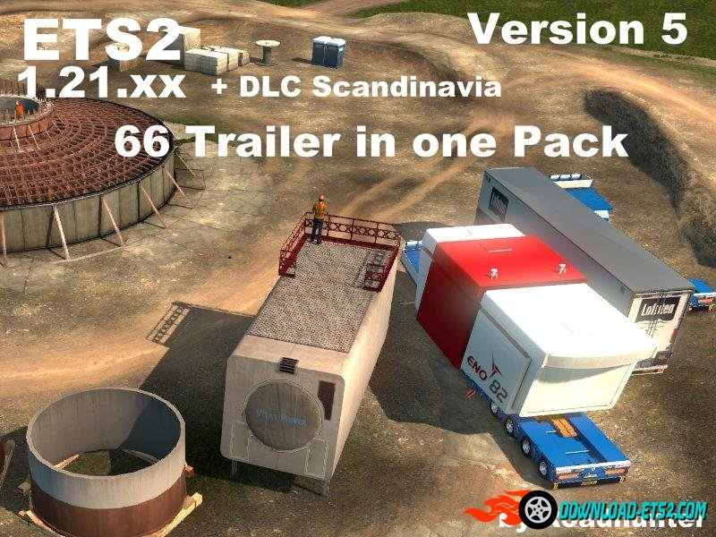 66 ROADHUNTER HEAVY TRAILERS PACK