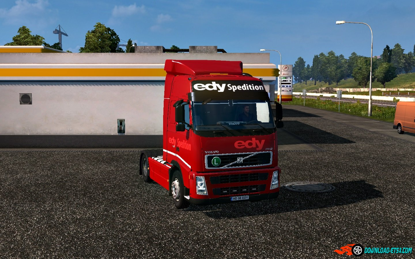 Volvo fh 12 edy spedition
