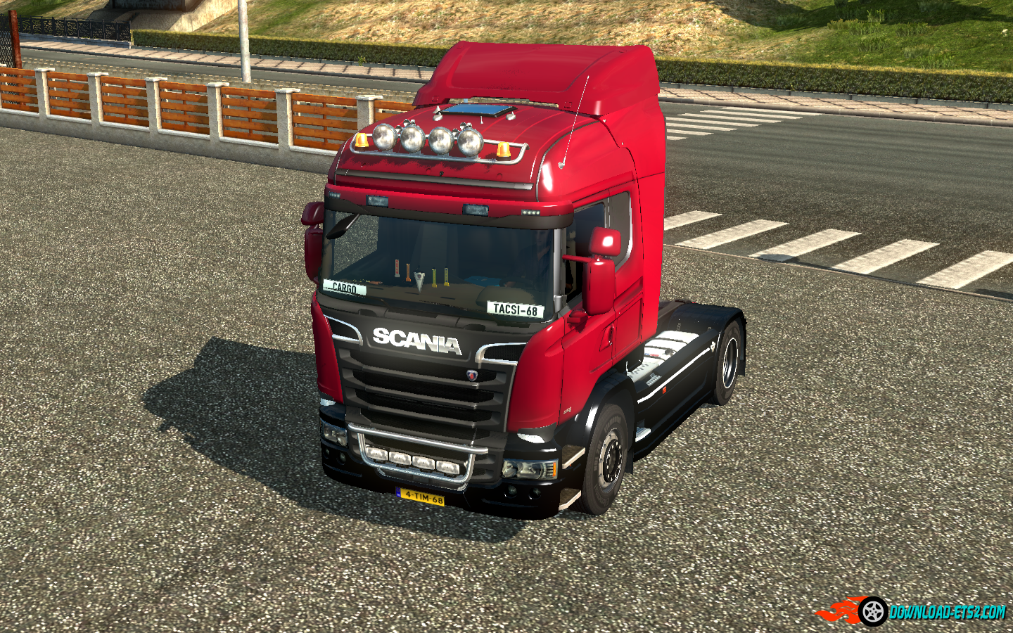 "Sound V8 ""Scania Streamline"""