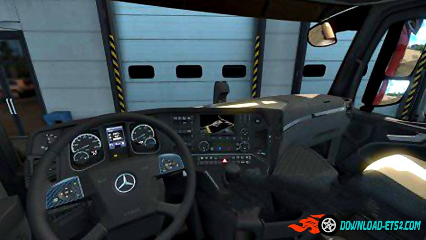 Mercedes Actros MP4 Carbon Interior
