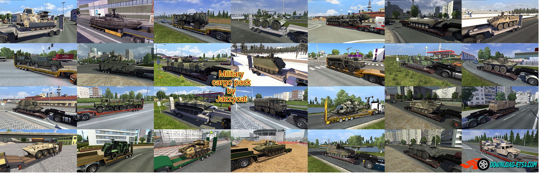 New Fix for Military Cargo Pack v1.7 by Jazzycat [1.23.x]