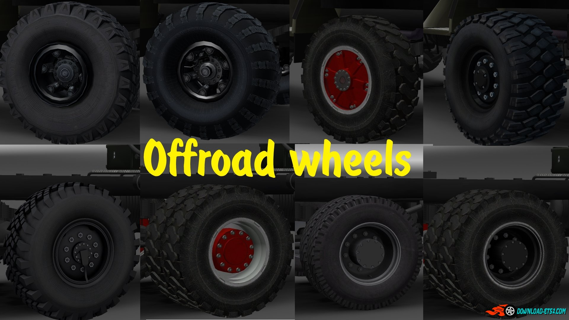 Off-road wheels