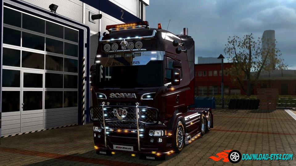 RJL's Scania Tuning mods - Necromancy Edition V3