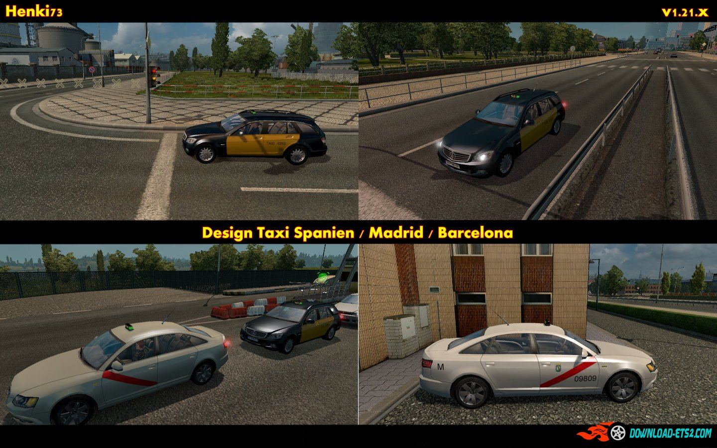 Spanish Taxi in AI Traffic