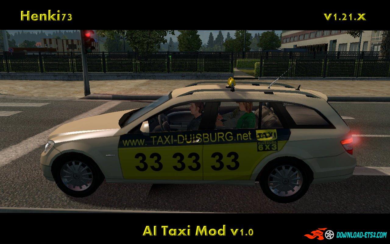 AI Taxi Mod v1.2 by Henki73