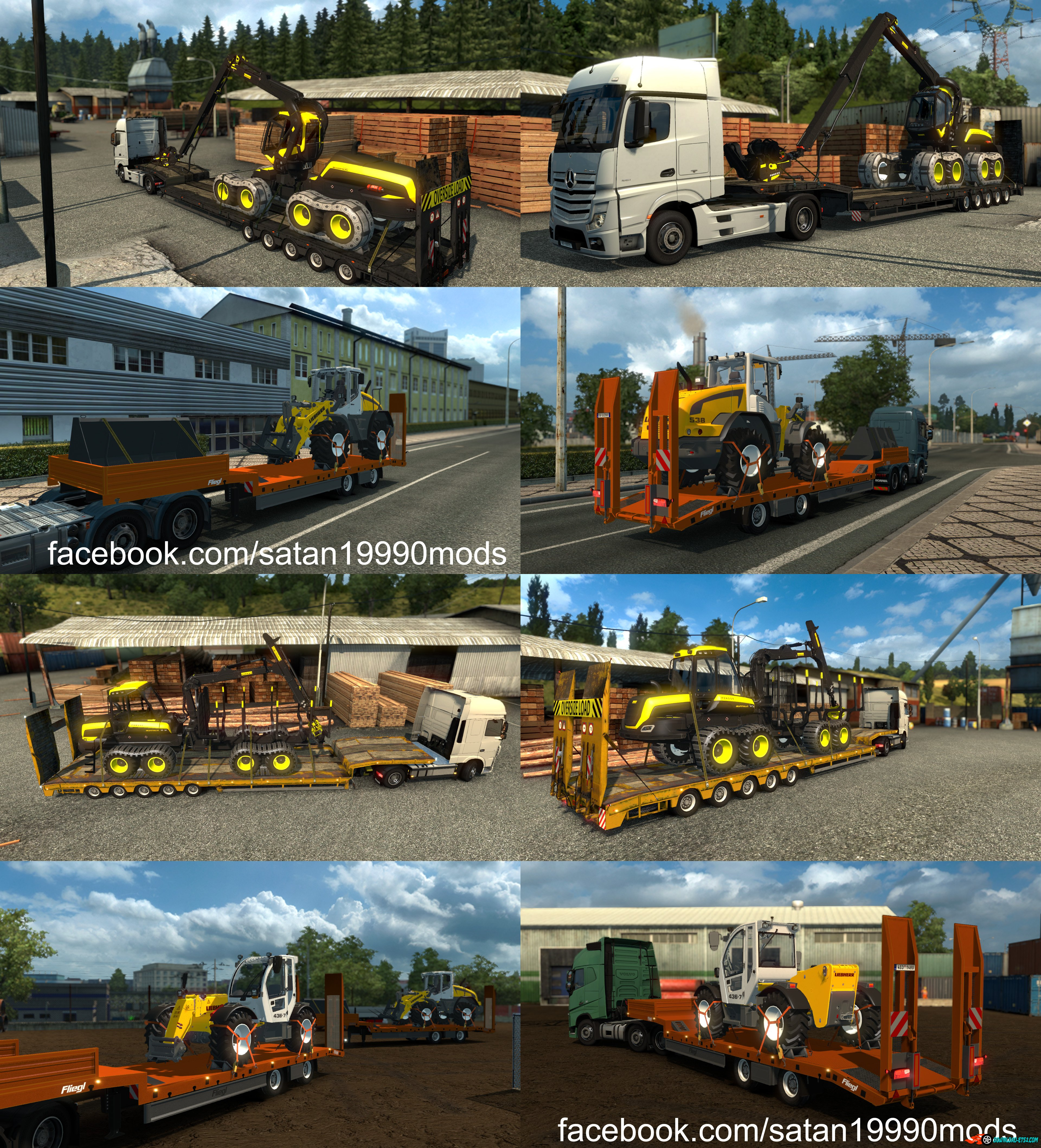 Trailer Mod Pack v3.9 by satan19990
