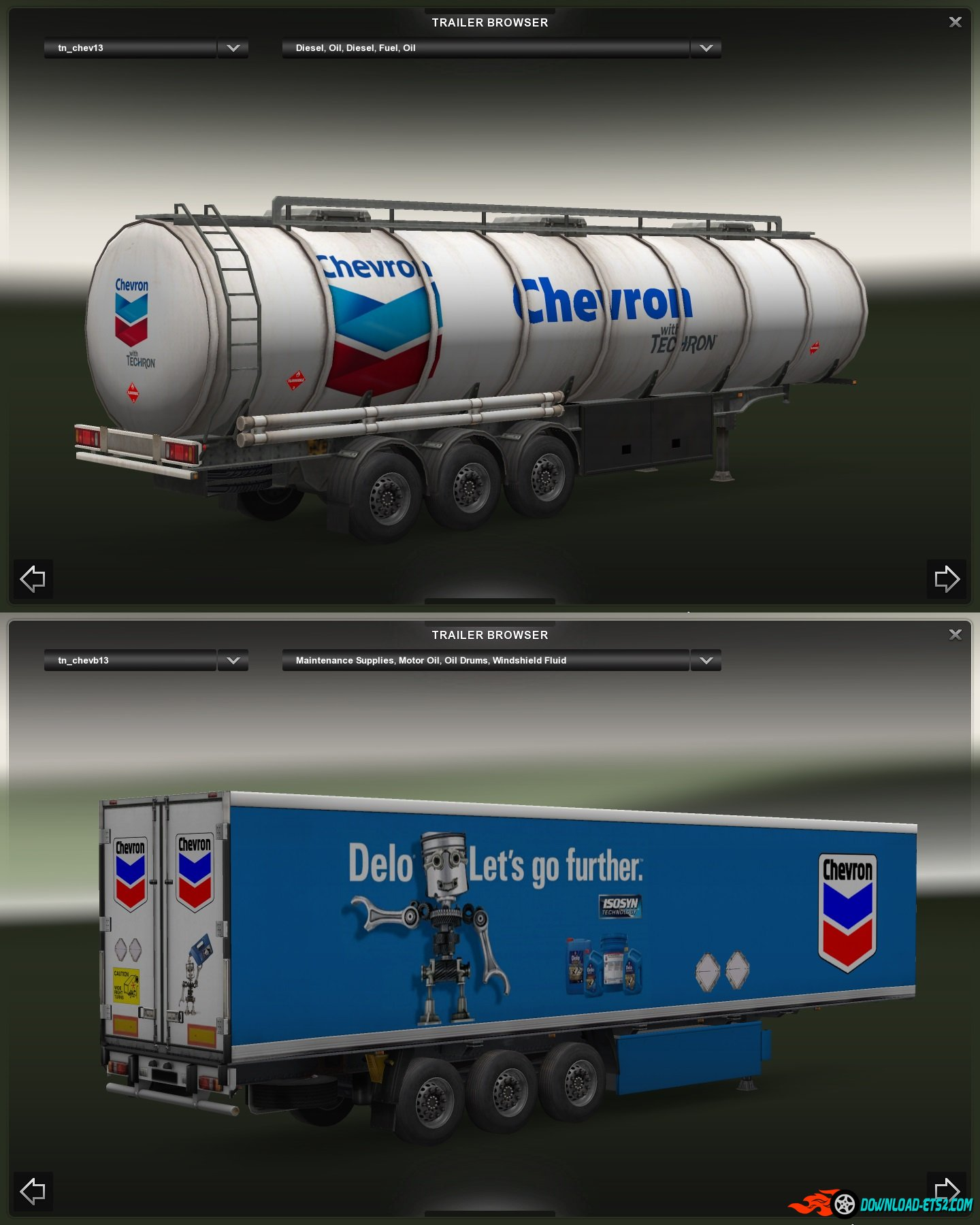 """Chevron"" Trailer Pack"