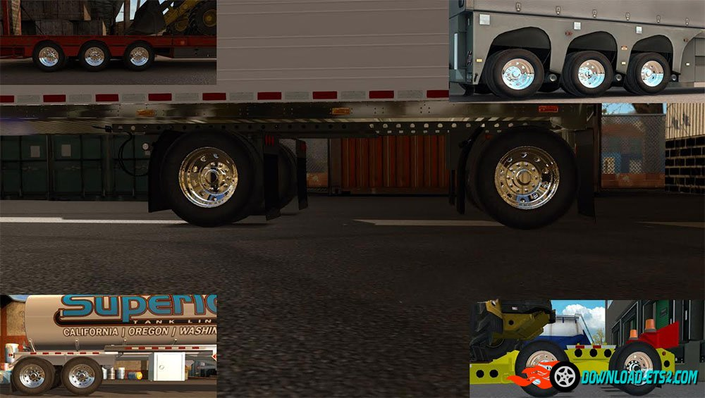 New Rims and Wheels for all trailers