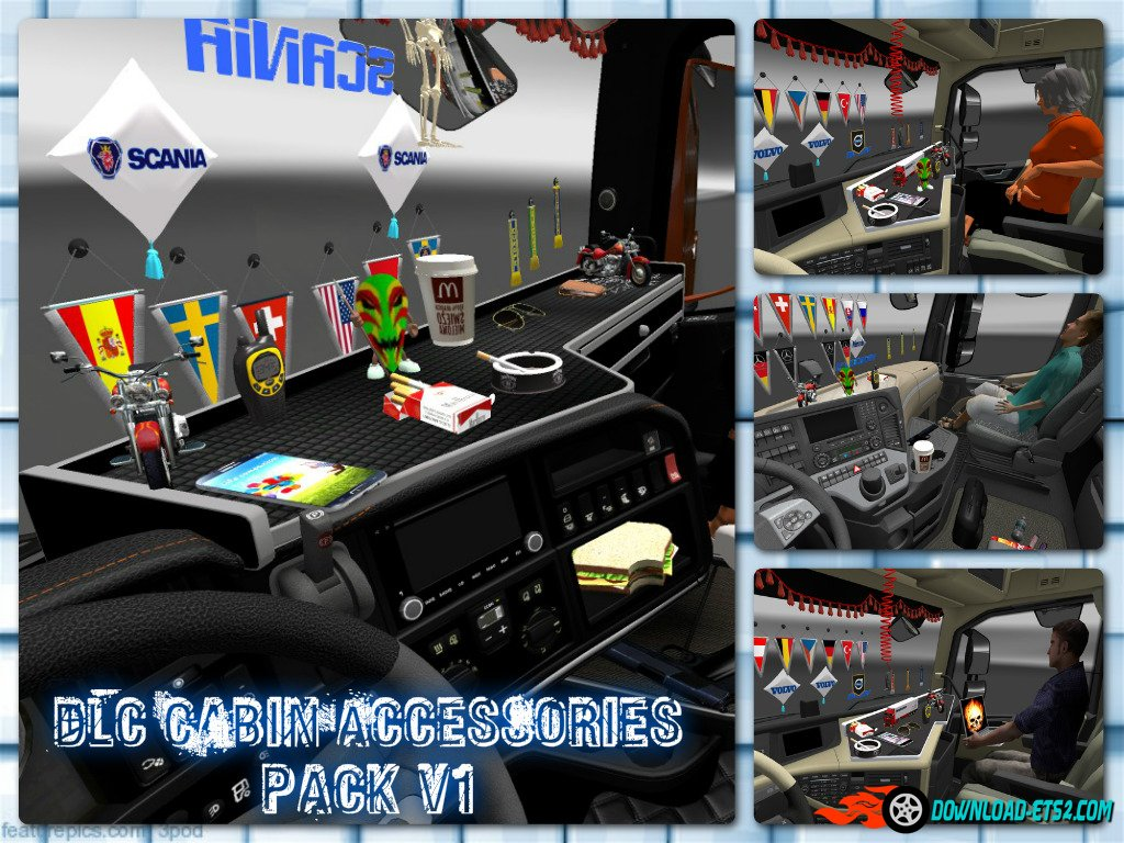 Dlc Cabin Accessories pack v1